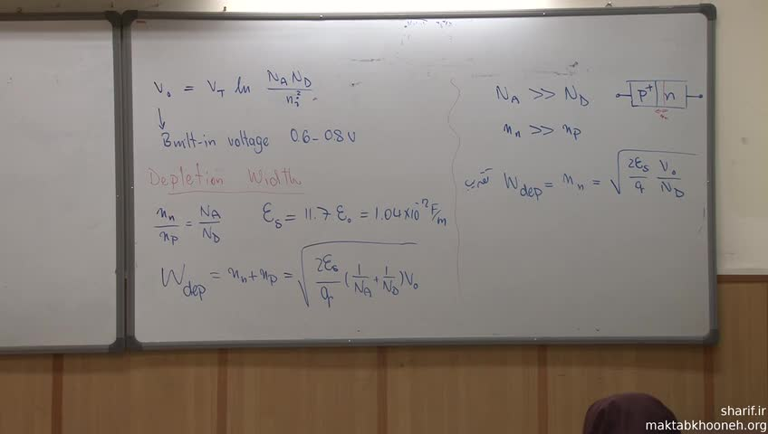 اصول الکترونیک (الکترونیک ۲) - جلسه سوم - دیودها و نیمه هادی ها
