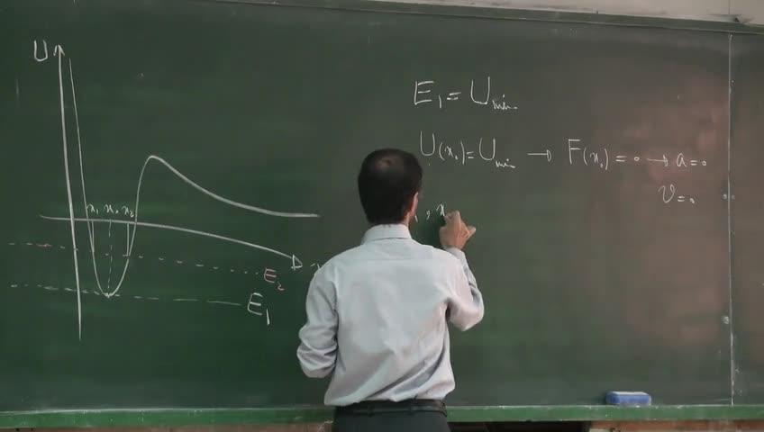 فیزیک ١ - جلسه پانزدهم - انرژی پتانسیل و نمودار انرژی پتانسیل