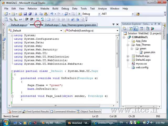 آموزش ASP.net - مبحث - Skin File