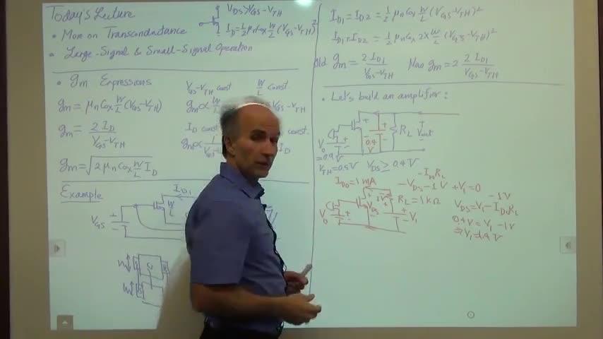 مدارات الکترونیک ۱ - جلسه سی و سوم - سیگنال بزرگ