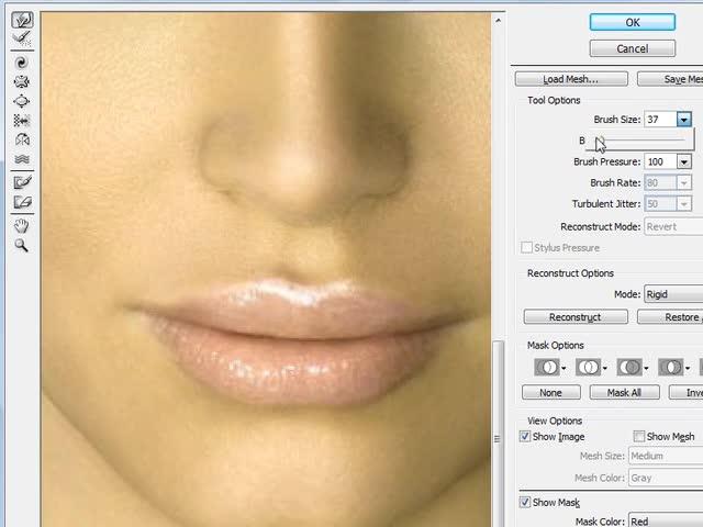 آموزش فتوشاپ (Photoshop) - جلسه 8 - تغییرات و تصحیح چهره (liquify)