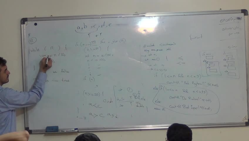 دروس المپیاد کامپیوتر - دوره المپیاد کامپیوتر - نظریه زبان - صفرنژاد - جلسه ٣