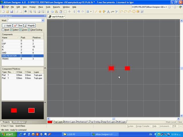 آموزش Protel DXP - جلسه 40 - تنظیم عناصر SMD