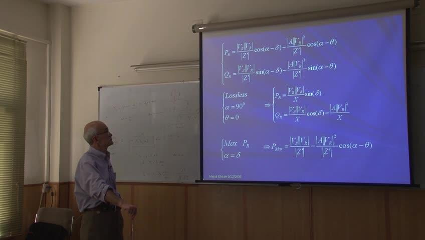 سیستم های انرژی الکتریکی - جلسه سیزدهم - مدلسازی