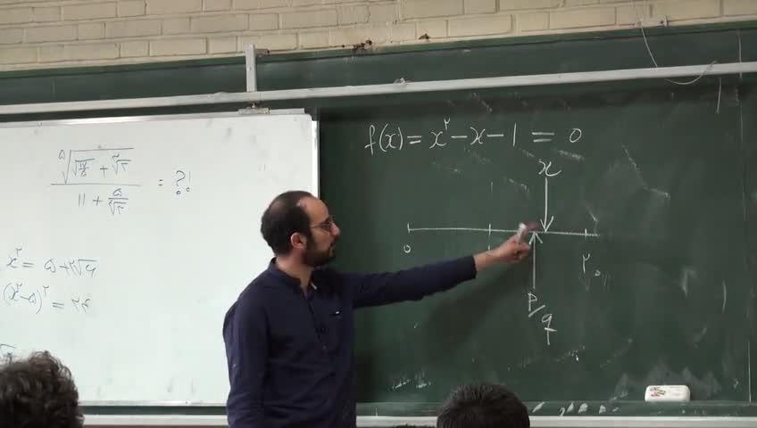 آشنایی با ریاضیات - جلسه چهارم - مفهوم اعداد گویا و گنگ و اعداد جبری