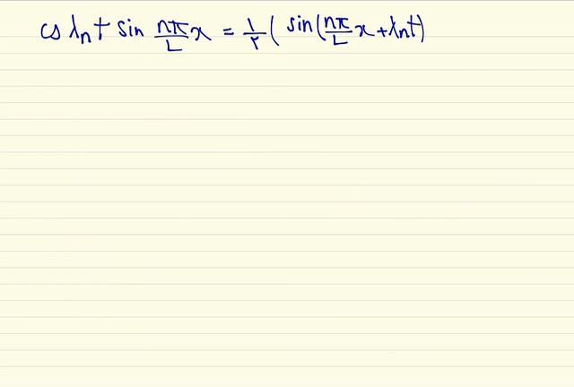 ریاضی مهندسی - جلسه نهم - معادله موج، معادله حرارت