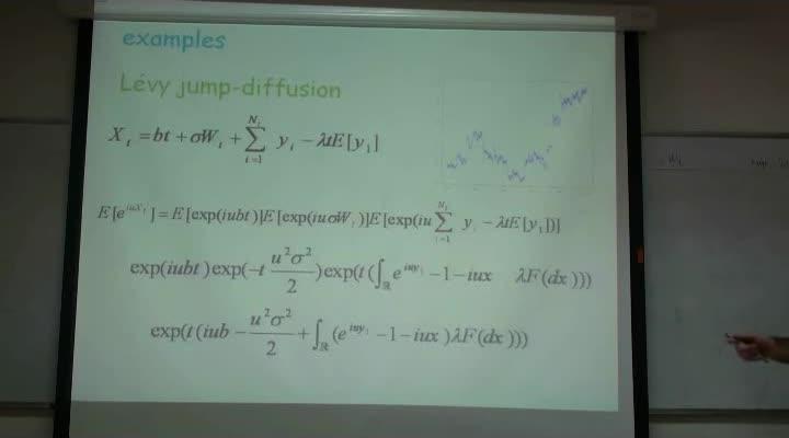 ریاضیات مالی - جلسه ۲۱