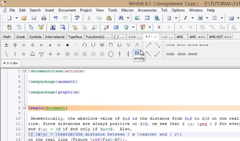 آموزش لتکس (LATEX) - جلسه پنجم - آشنایی با منوهای حرفه ای لتکس در فرمول نویسی
