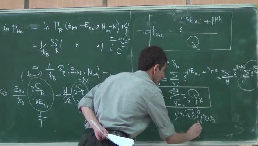ترمودینامیک و مکانیک آماری ٢ - جلسه چهاردهم