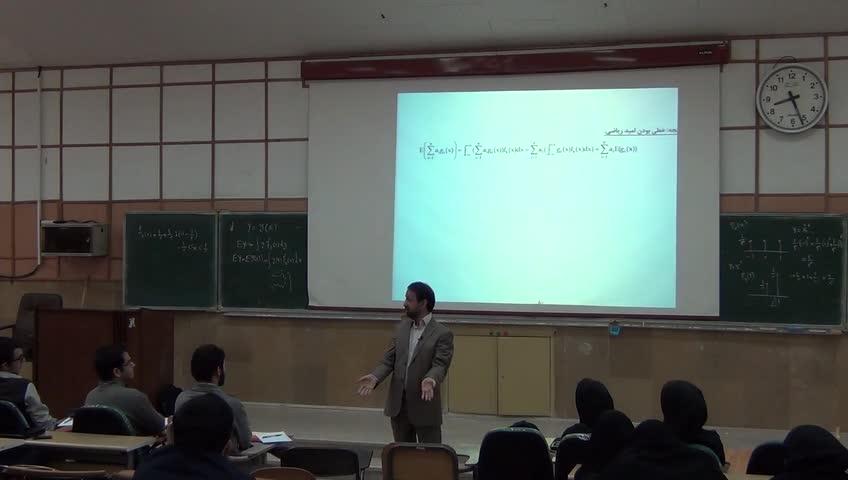 آمار و احتمال مهندسی - جلسه نهم - میانگین و واریانس یک متغیر تصادفی