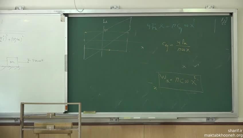 ارتعاشات - جلسه هفدهم - میرایی لزج معادل