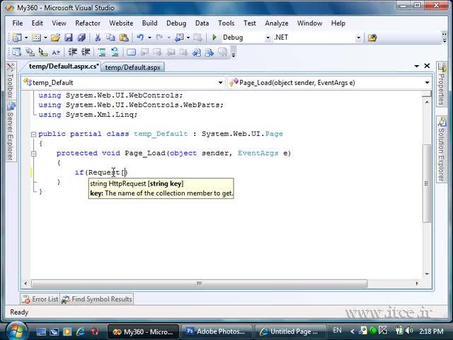 آموزش ASP.net - مبحث Client Side Code
