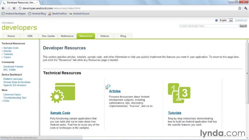 آموزش اندروید - جلسه دوم - resources