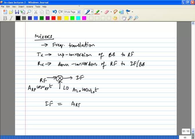مدارات فشرده فرکانس بالا - جلسه 19 - طراحی تقویت کننده کم نویز 3