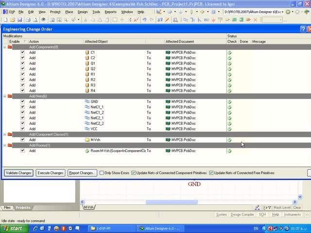 آموزش Protel DXP - جلسه 10 - انتقال شماتیک به PCB