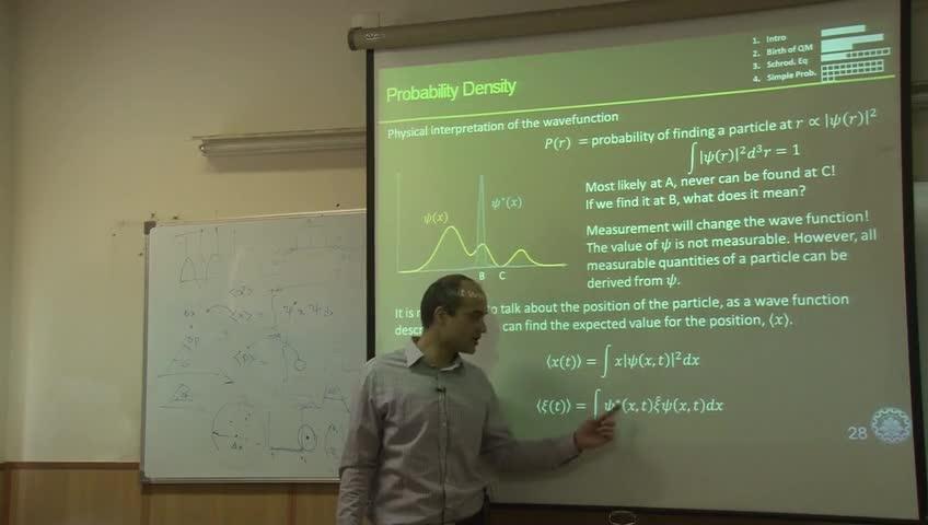 اصول ادوات حالت جامد - جلسه سوم - اصول مکانیک کوانتوم و معادلهی شرودینگر