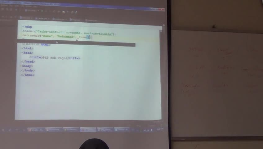 برنامه نویسی وب - جلسه نهم - ادامهی php و آشنایی با چند مفهوم