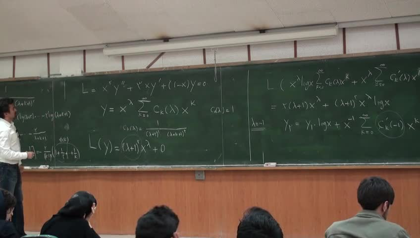 معادلات دیفرانسيل - جلسه نوزدهم - حل معادلات با روس فربینیوس