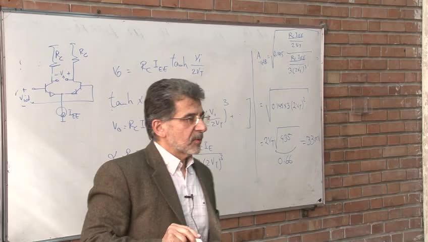 مدارهای مجتمع فرکانس بالا - RFIC - جلسه 4 - ادامه محاسبات نویز فیگر . مفاهیم سیستمی . بررسی اثرات غیرخطی بودن