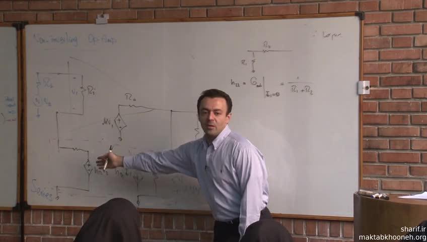 اصول الکترونیک (الکترونیک ۲) - جلسه بیست و دوم - فیدبک - سری-شانت