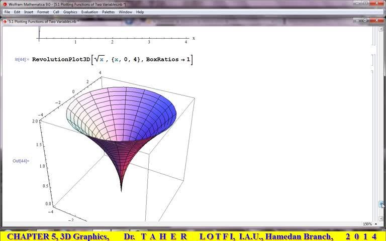 آموزش متمتیکا (Mathematica) - جلسه 35