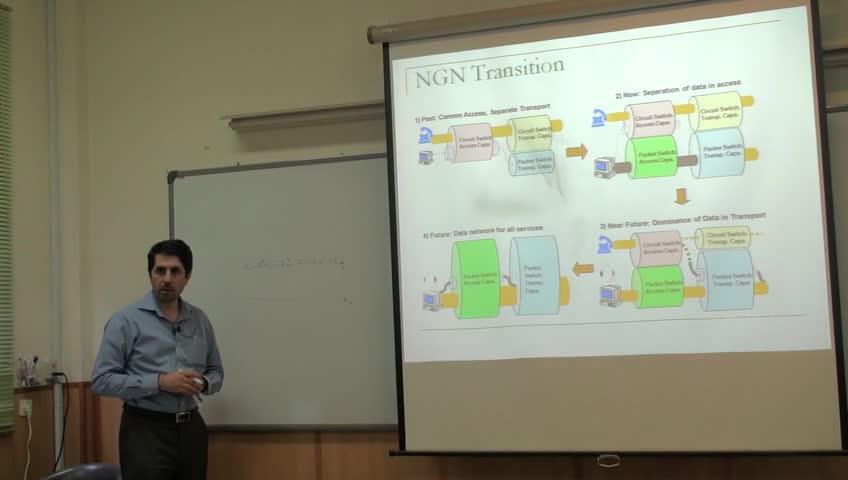شبکه مخابرات داده پیشرفته - جلسه هفدهم - تحول در شبکه ها