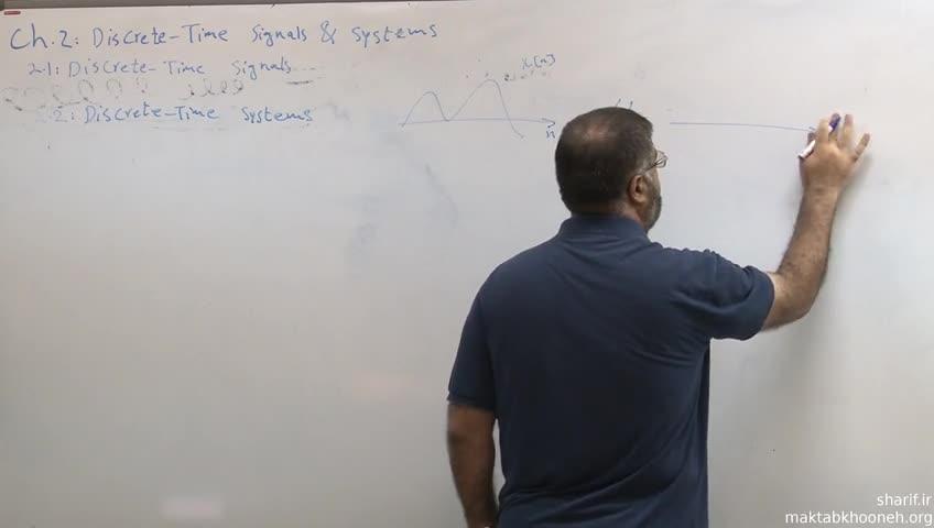 پردازش سیگنالهای دیجیتال - جلسه اول - بررسی نمایش های یک سیستم