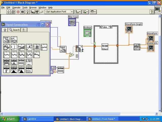 آموزش LabVIEW - جلسه 13 آموزش Signal Processing 2- LabView