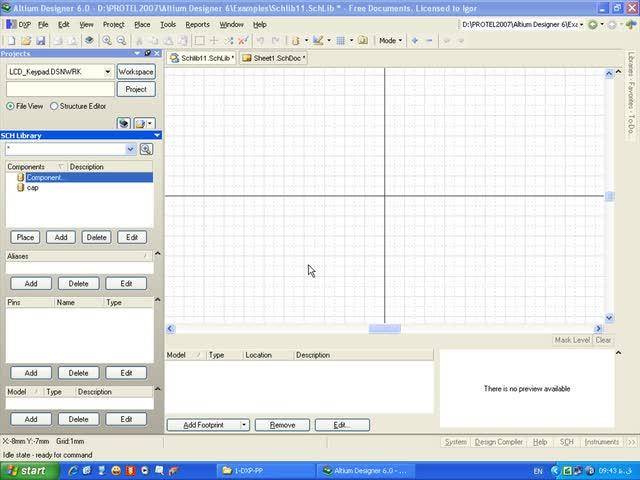 آموزش Protel DXP - جلسه 34 - اضافه کردن مدل به شماتیک