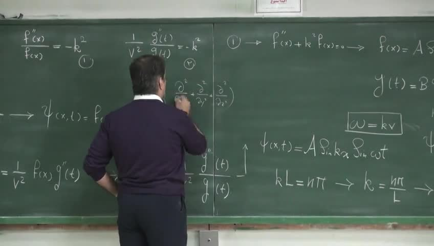 مکانیک کوانتیک - جلسه ۵ (بخش ۱) - تولد مکانیک کوانتومی (ادامه)