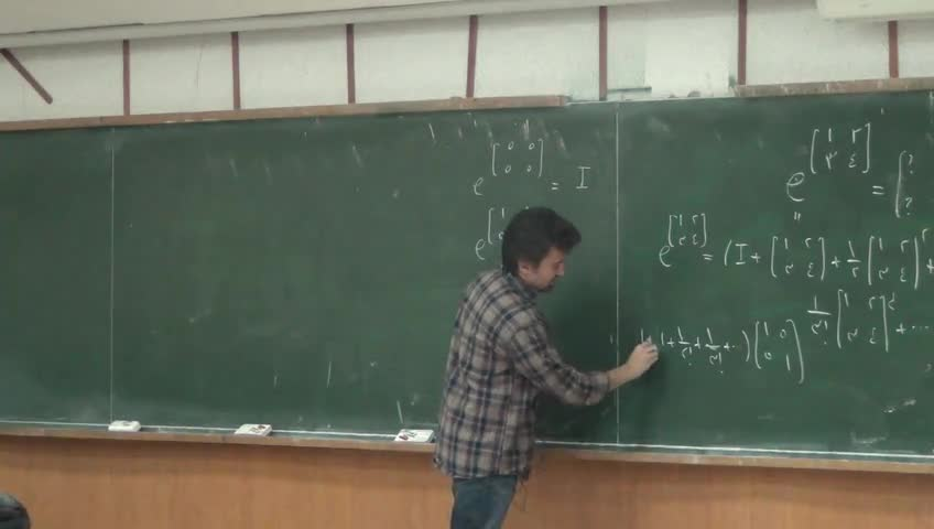 معادلات دیفرانسيل - جلسه بیست پنجم - دستگاه خطی معادلات دیفرانسیل، ریشه های تکراری، تابع نمایی