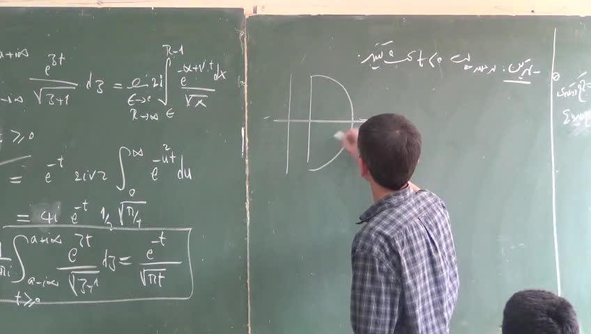 ریاضی فیزیک ۲ - جلسه نوزدهم - تقریب نقطه زینی