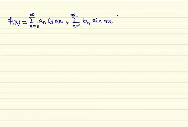 ریاضی مهندسی - جلسه اول - آنالیز فوریه