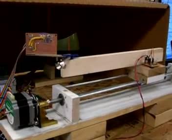 میکرو کنترل کاربردی - پروژه 2 - اسکنر 3 بعدی