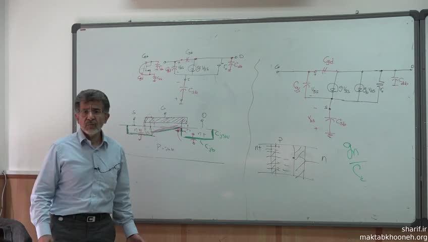 الکترونیک ۳ - جلسه سی و پنجم - رفتار فرکانسی ترانزیستور MOS
