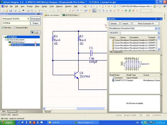 آموزش Protel DXP - جلسه 13 - قرار دادن عناصر در PCB