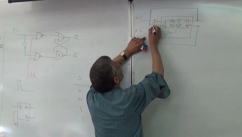 مدار های منطقی - جلسه دوازدهم - فلیپ فلاپ (لچ)