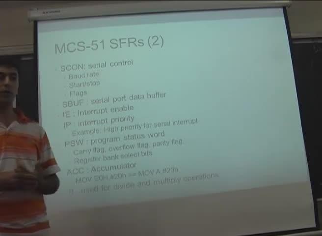 میکروکنترلر ARM - جلسه 6 - هسته MCS-51