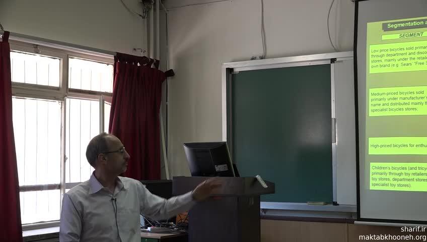 مدیریت راهبردی - جلسه دهم - تحلیل های درون صنعتی