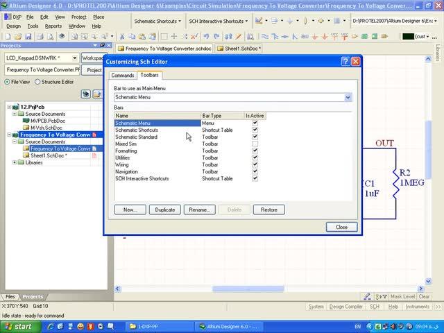 آموزش Protel DXP - جلسه 29 - بازیابی حالت پیش فرض