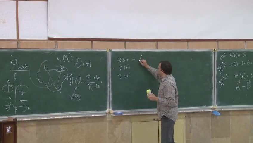 فیزیک ١ - جلسه شانزدهم - دوران