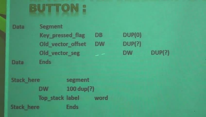 ریزپردازنده ۱ - جلسه یازدهم - وقفه های سخت افزاری