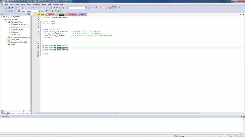 تخته سفید   STM32F0 Tutorial 7: I2C example Part 2