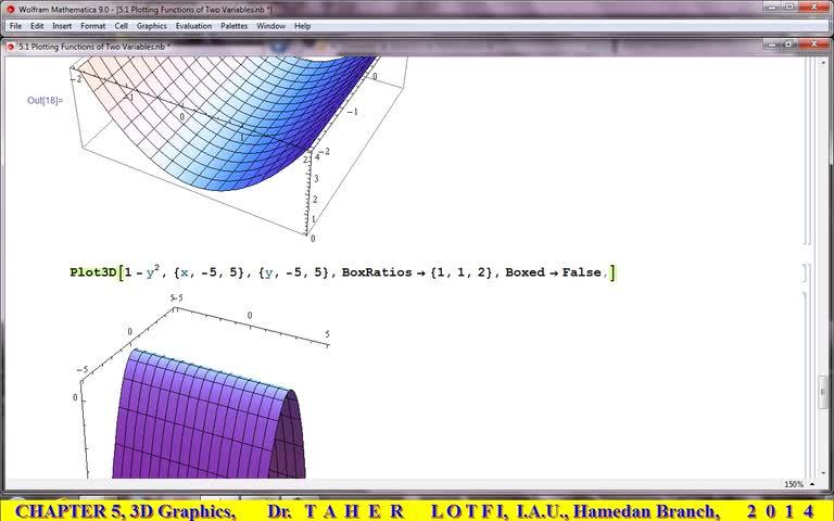 آموزش متمتیکا (Mathematica) - جلسه 32