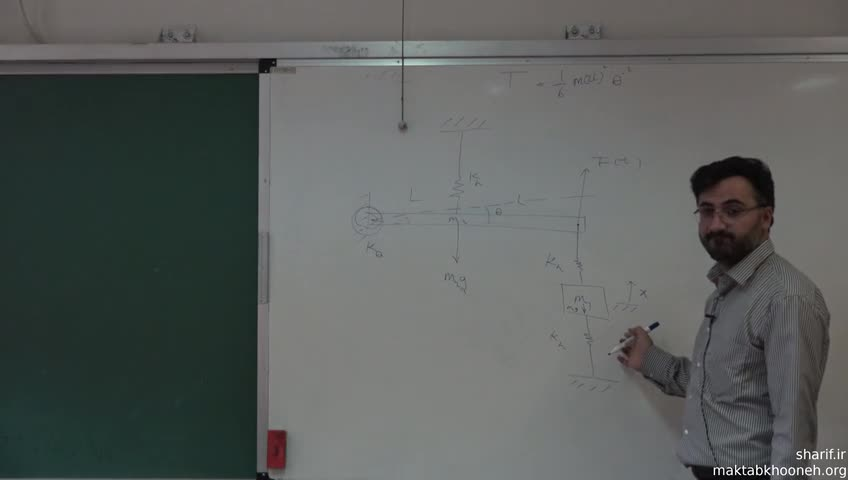 ارتعاشات - جلسه بیست و یکم - معادله لاگرانژ