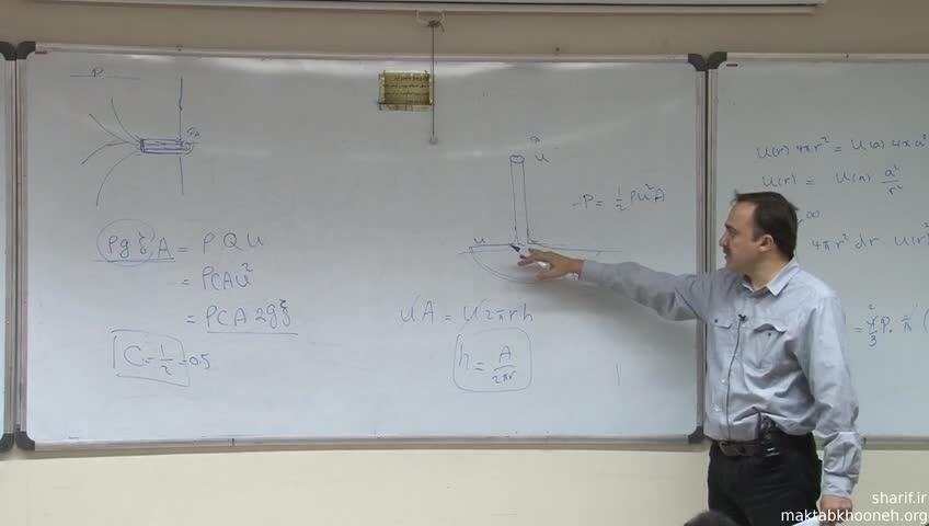 مکانیک سیالات - جلسه نهم - حباب