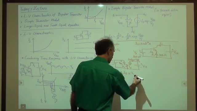 مدارات الکترونیک ۱ - جلسه شانزدهم - سیگنال بزرگ و سیگنال کوچک