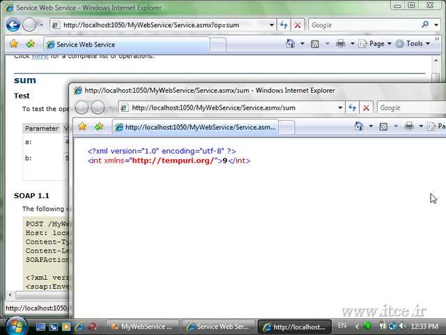 آموزش ASP.net - مبحث - Web Service - Part 1