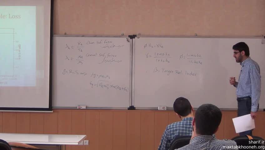 قابلیت اعتماد سازه و مدل سازی احتمالاتی - جلسه بیست و نهم - تحلیل قابلیت اعتماد متغیر در زمان و مکان