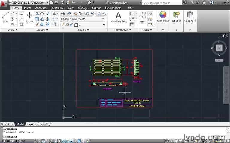 آموزش AutoCad - جلسه ۷ - آموزش مقدماتی AutoCAD - selectSim